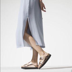 BIRKENSTOCK Arizona Platform Leather Sandals NEW